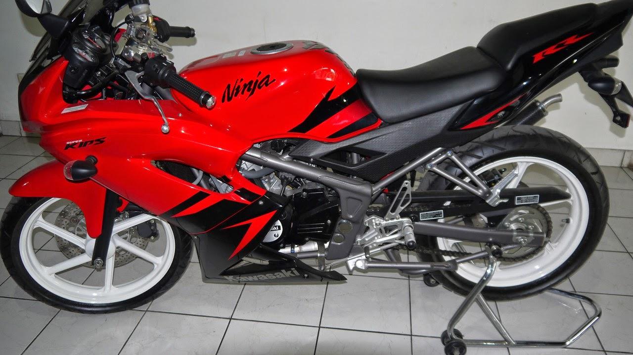 jual motor murah bpkb onli non stnk: kawasaki