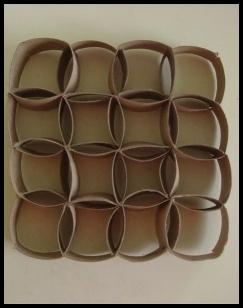Kerajinan kertas dengan bahan karton gulungan tisu saung gbr hiasan dinding dengan desain minimalis thecheapjerseys Gallery