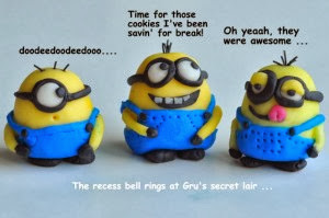 How to make Minions with Fondant.