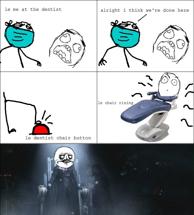 More funny | Meme | Rage Comics: Le chair rising
