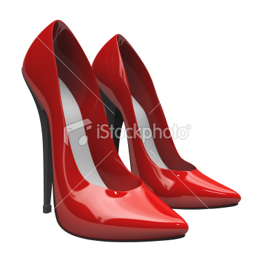 Red High Heels-123