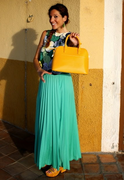 bolso amarillo lady