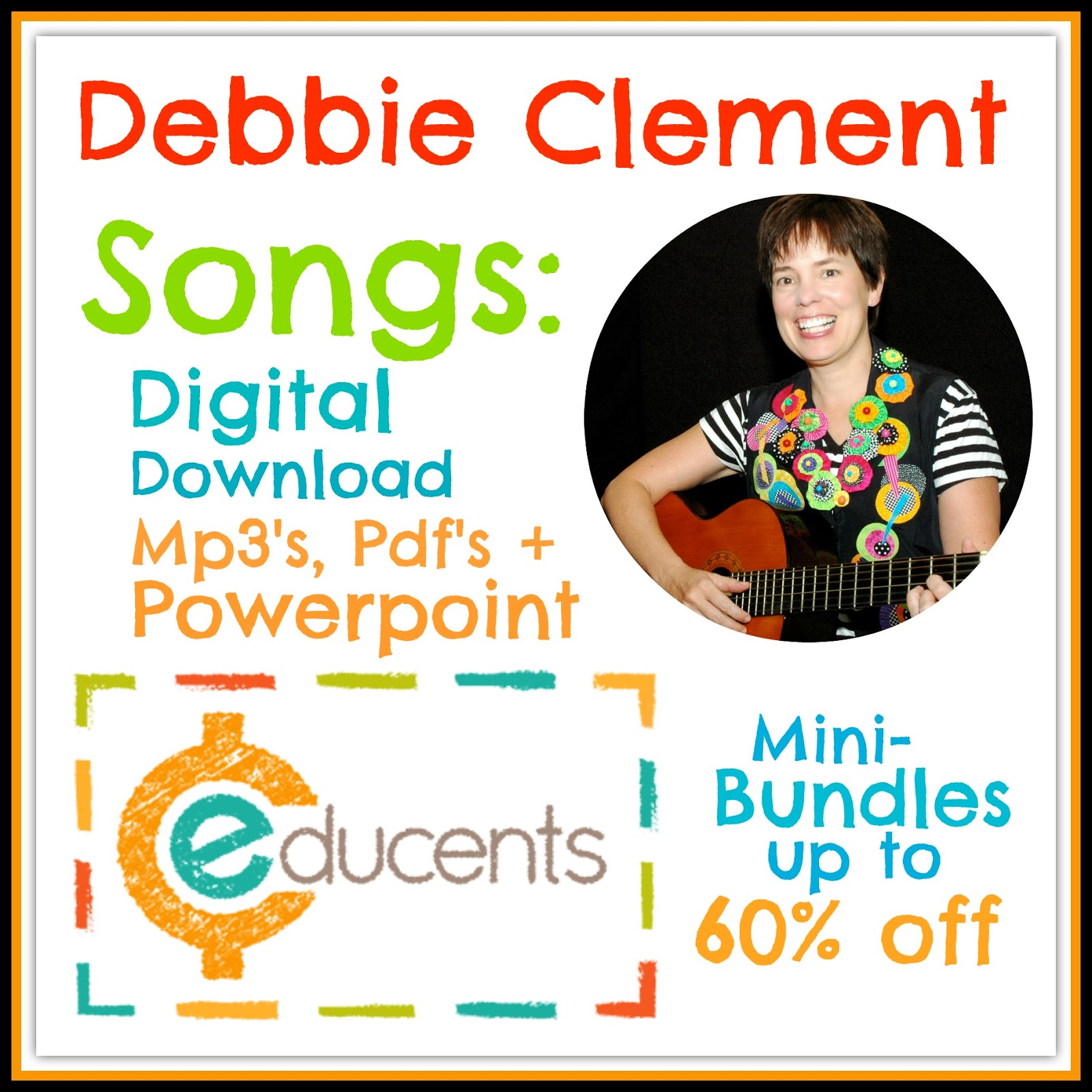 Debbie Clement Digital Downloads Deeply Discounted at Educents!