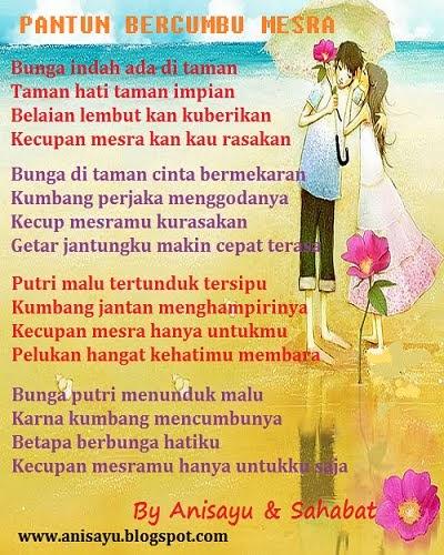 PUISI CINTA BY ANISAYU: Pantun Cinta Bercumbu Mesra ...