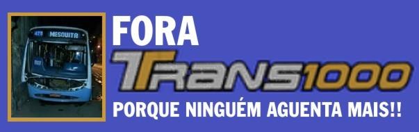 Fora Transmil!! PORQUE NINGUÉM AGUENTA MAIS!!