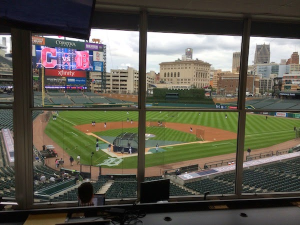Lineups for Game 1 of Indians-Tigers series