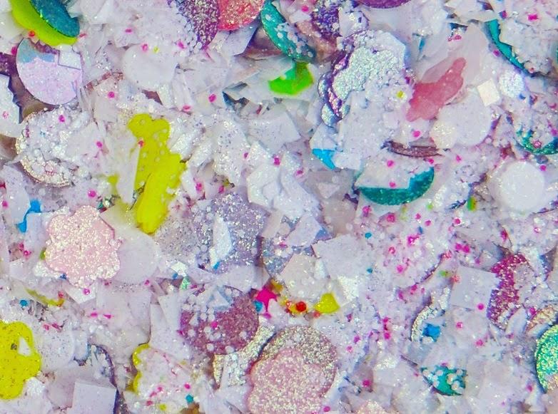 Surprise Sugar Eggs Loose Glitter Mix