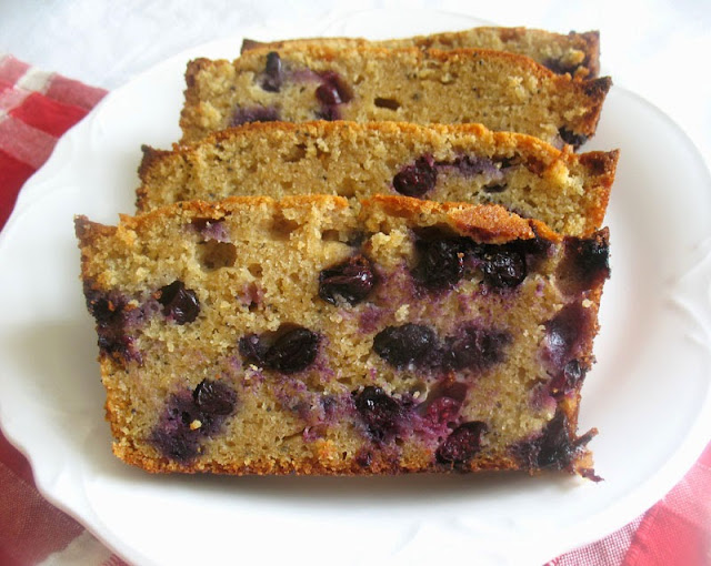 Blueberry Ricotta Pound Cake