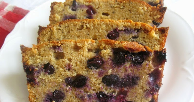 Blueberry Yogurt Pound Cake Recipe