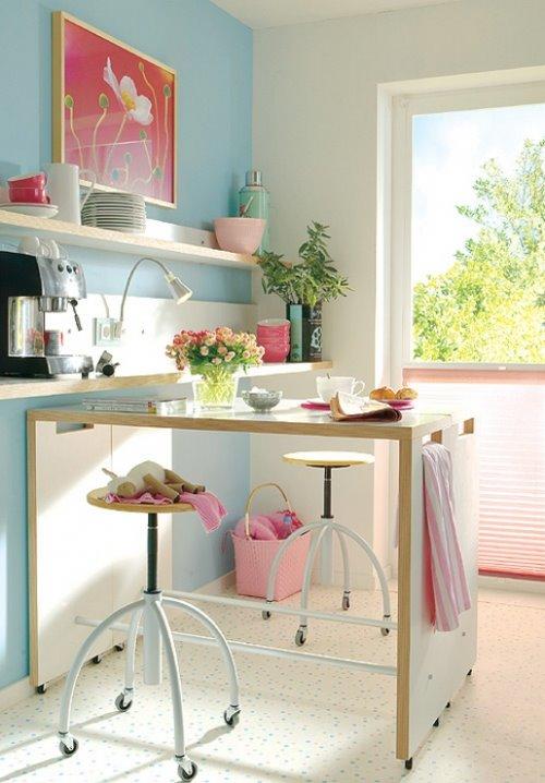 Casa da zu apartamentos pequenos for Cocinas originales pequenas
