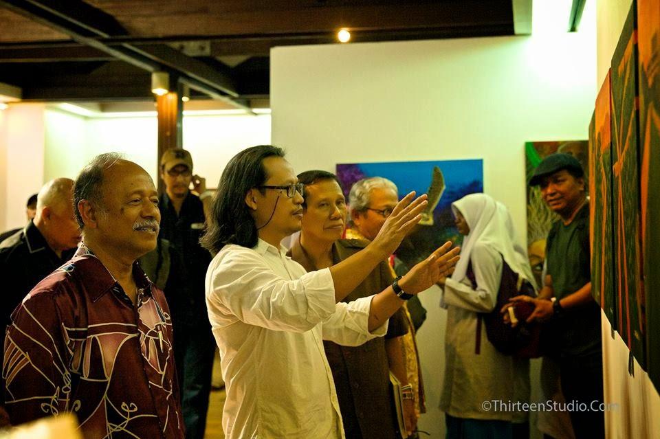 Pameran Rupa Selangor di Galeri Shah Alam