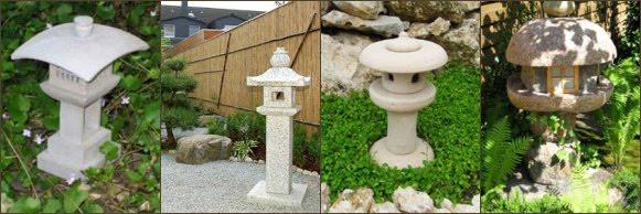 fotos linternas-lamparas-pagodas japonesas tachi gata