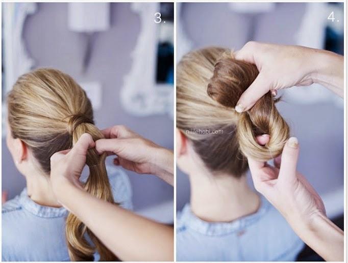 Farklı ve Şık Saç Modeli Yapımı