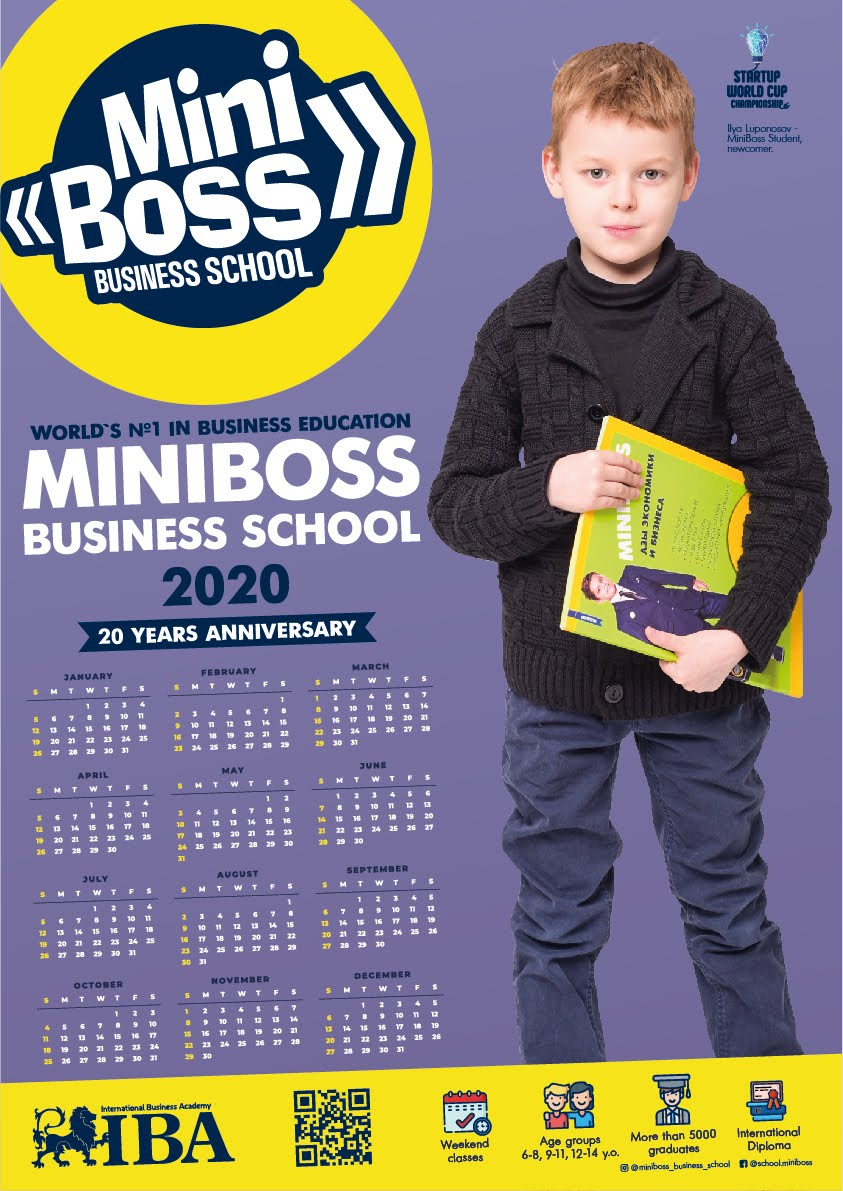 Calendar MINIBOSS 2020
