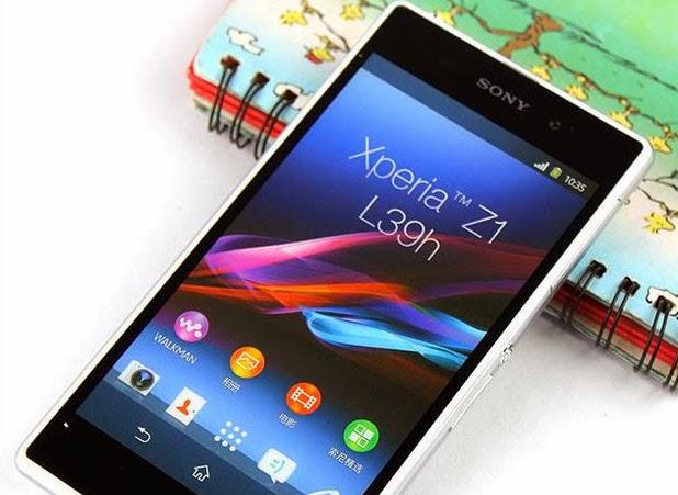 gambar Sony Xperia Z1s