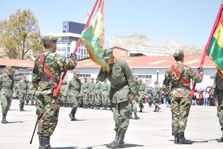 Servicio militar en Bolivia