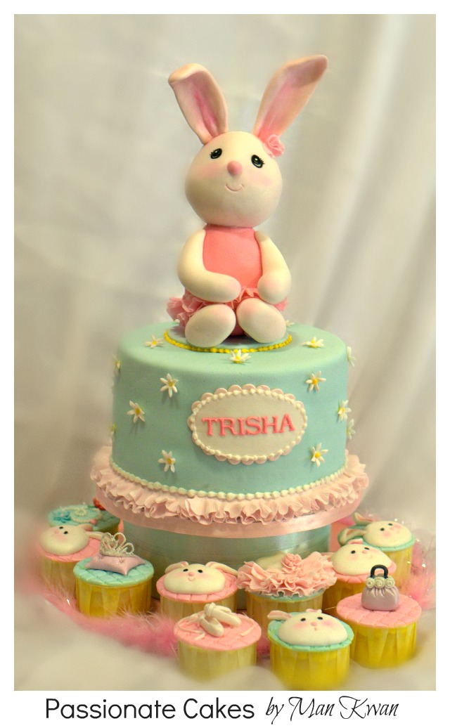 PassioNate Cakes Cute sweetie Bunny for Trisha