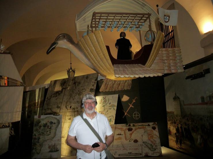 Passarola (falsa versão de Bartholomeu sobre o Aerostato) (Museu da Cidade - Lisboa)