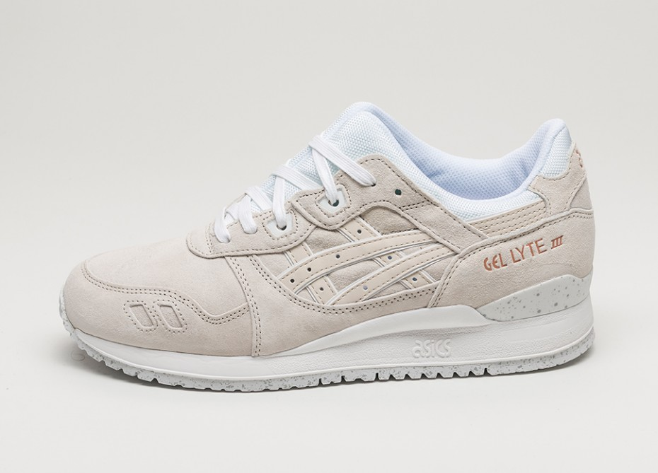 asics gel lyte iii rose gold pack