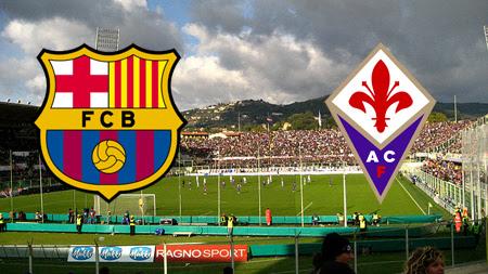 siaran ulang  Barcelona vs Fiorentina