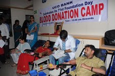 UCO Bank 71st Foundation Day - Blood Donation Camp