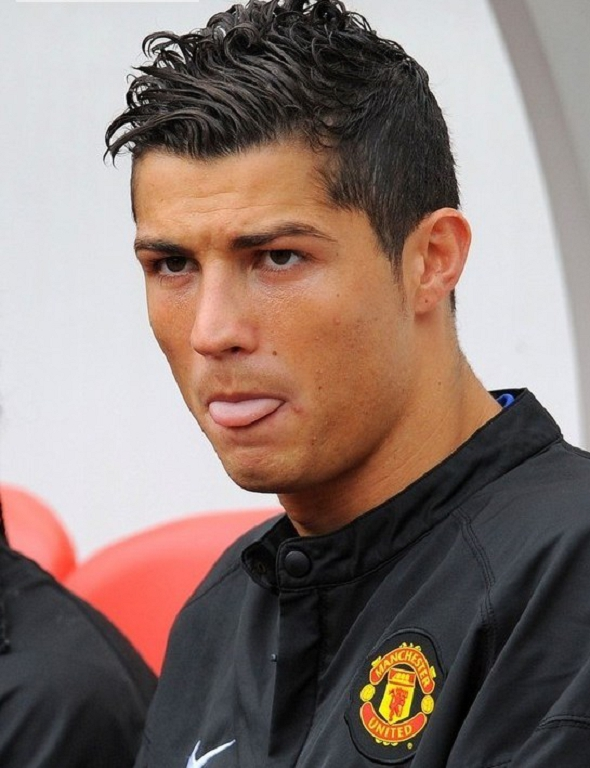 Cristiano Ronaldo Haircut Style