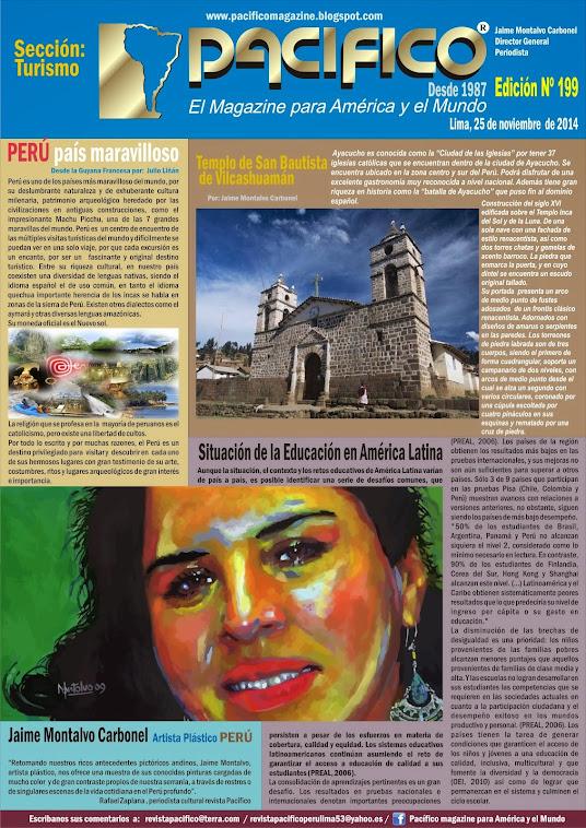 Revista Pacífico Nº 199 Turismo