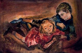 Niños jugando - Oskar Kokoschka