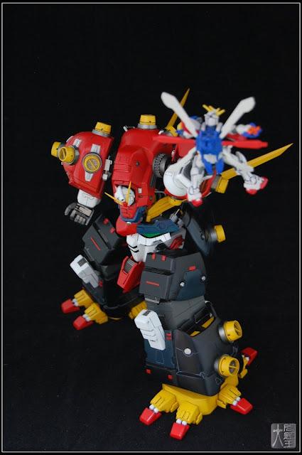GUNDAM GUY: HG 1/144 Devil Gundam - Scratch Build