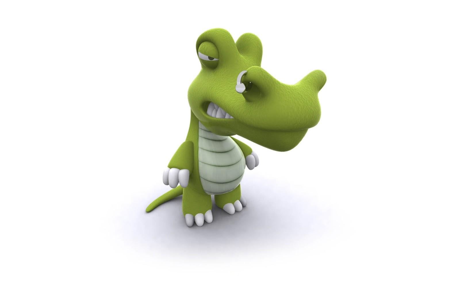 Pierced Crocodile