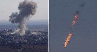Turqia rrëzon një avion rus?