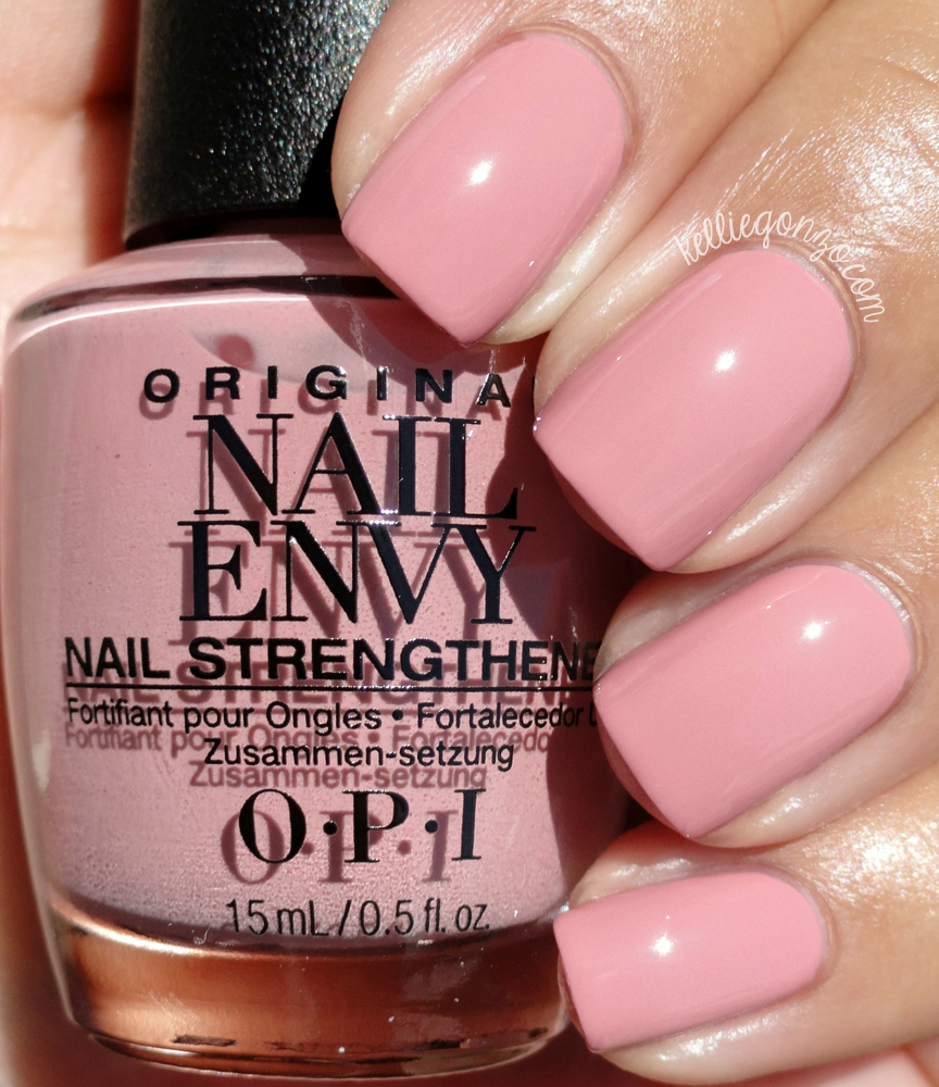 OPI Nail Envy Strength In Color Collection Swatches & Review ...