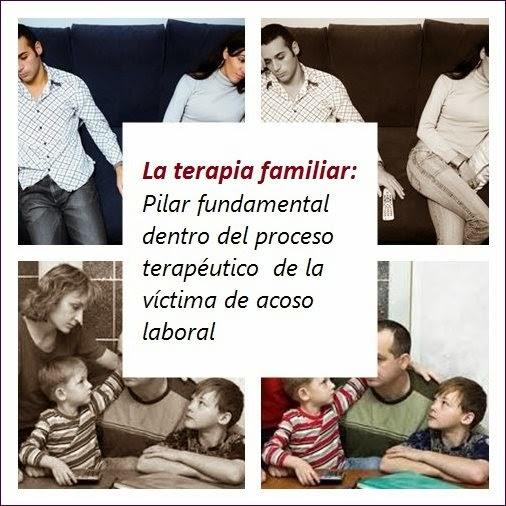 MobbingMadrid La terapia familiar: Pilar fundamental dentro del proceso terapéutico  de la víctima de acoso laboral