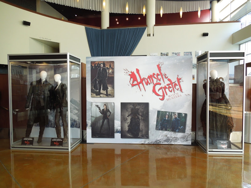 Hansel Gretel Witch Hunters movie costume exhibit ArcLight Hollywood