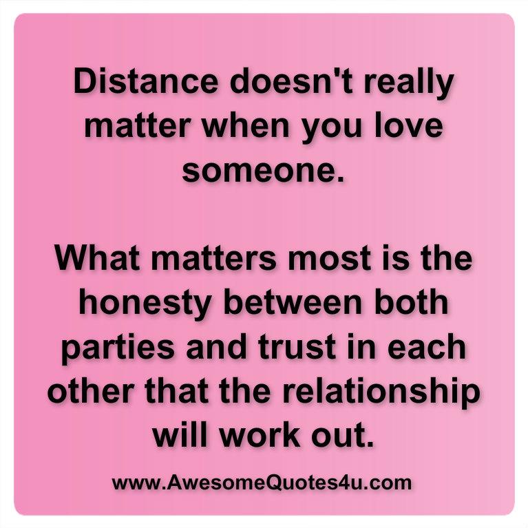 Distance Doesnt Matter Friendship Quotes: Long distance ...