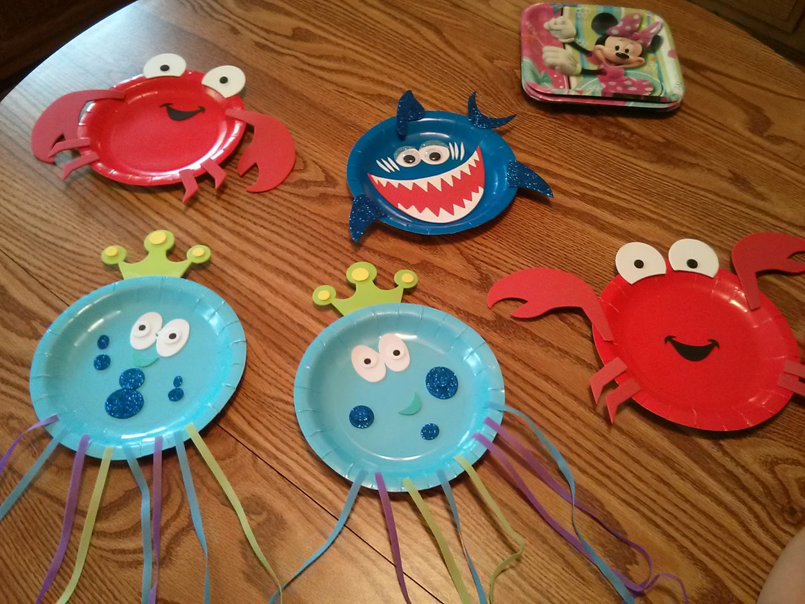 Craft 365 Day 124 Sea Life Paper Plates & Similiar Paper Plate Sea Animals Keywords