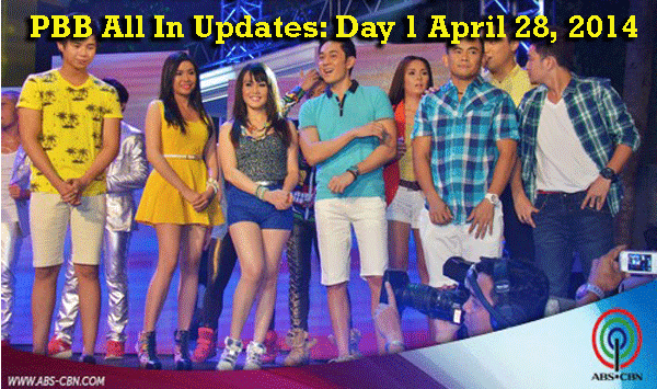 PBB All In Updates: Day 1 April 28, 2014