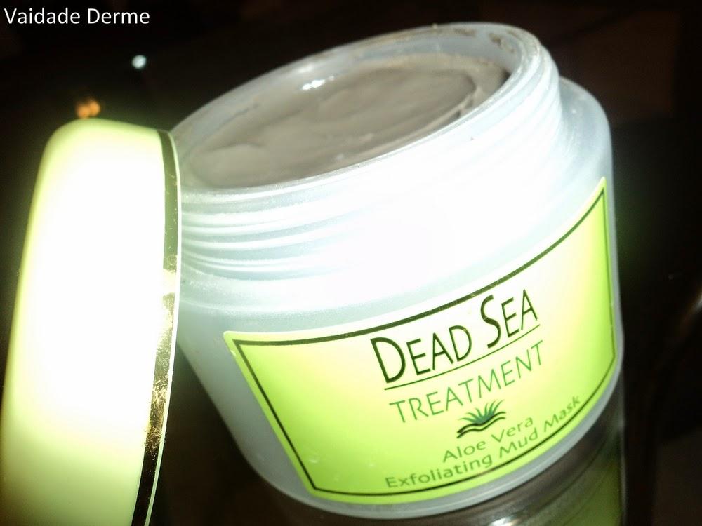 Dead Sea Treatment Aloe Vera Exfoliating Mud Mask | Argila do Mar Morto