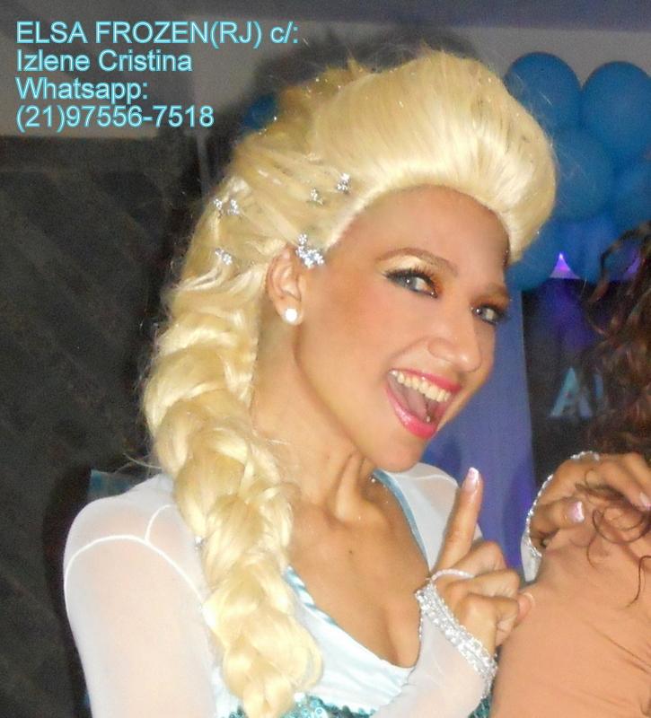 ELSA FROZEN (RJ) c/: IZLENE CRISTINA (21)9978-7025 / Whatsapp:(21)97556-7518