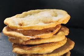 Buñuelos de Manzana y Vainilla