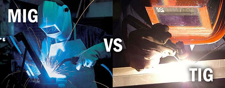 the differences and similarities between mig and tig welding Steel tig welded is about 85000 psi  the difference between brazing and braze welding is:  mig, tig, stick, and oxy/fuel welding shop layout,.