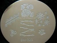 Bundle Monster BM-323 stamping plate