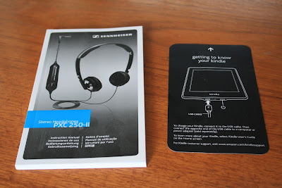 Kindle Manual Headphones