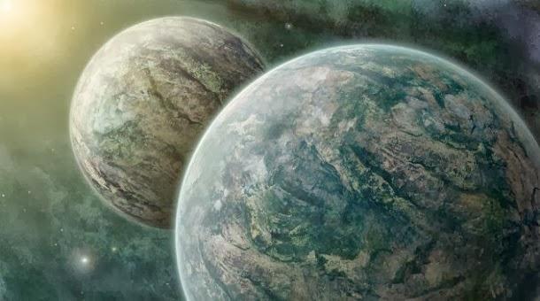 Estrelas duplas com planetas duplos a circundá-las