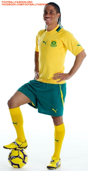 South Africa's New Kit by Puma