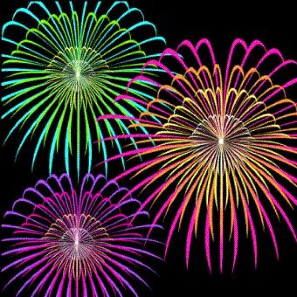 Brilliant Fireworks art