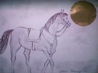 Dal niente a tutto disegnare for Cavallo disegno a matita