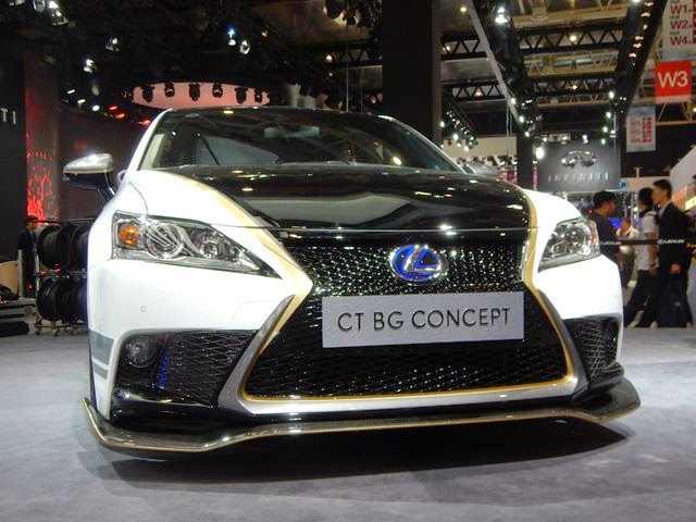 New 2014 Lexus CT BG Concept Review