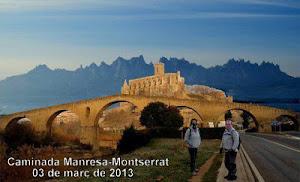 Caminada Manresa-Monestir de Montserrat