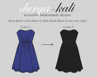 reversible dresses turn into little black dresses